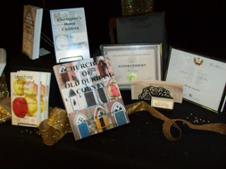 Sher's table at the Mayor's Gala for the Arts