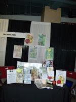 Oshawa Home Show - display table